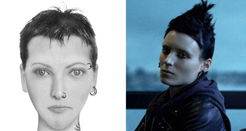 «Лисбет Саландер, «Девушка с татуировкой дракона» Стиг Ларссон